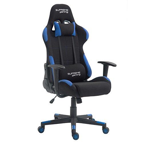 Gaming Drehstuhl SWIFT Racer Gamer Bürostuhl Schreibtischstuhl PC Chefsessel in schwarz/rot