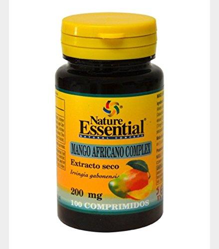 Afrikanischer Mangokomplex 200 mg. (trocken ext) 100 Tabletten mit Apfelessig, Acai, Artischocken und grünem Tee
