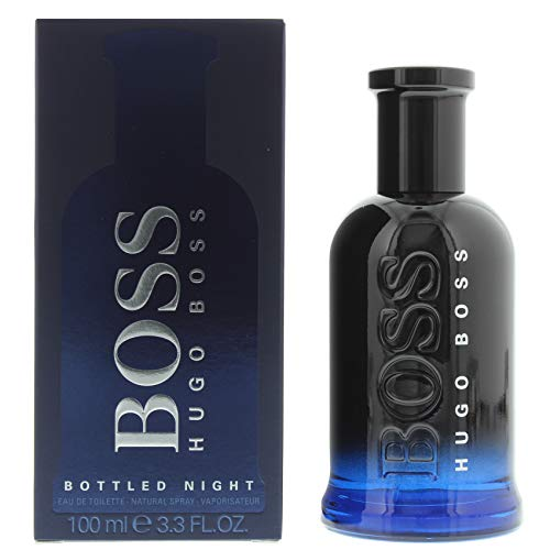 8e360d0278 Hugo Boss BOTTLED NIGHT Eau de Toilette, 3.3 Fl Oz