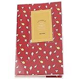SM SunniMix 3.3x2 Family Photo Album 84Pocket Red Leaves Memo Book For Fujifilm Instax Mini 8 8+ 9 70 7s 25 26 50s 90 Paper