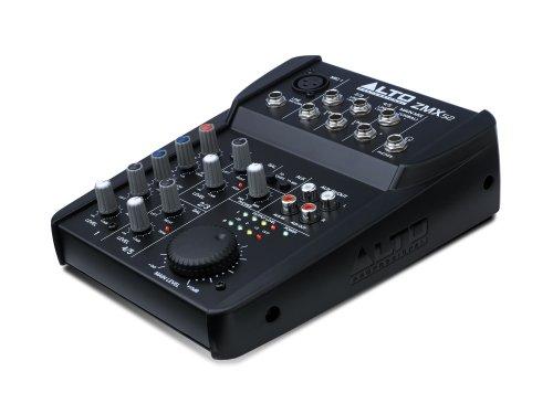 Alto Professional ZMX52 - Mezclador compacto de 5 canales con 8 entradas y preamplificadores Mic discretos
