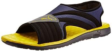 Puma Men's Faas Slide Black Mesh Athletic & Outdoor Sandals - 10UK/India (44.5EU)