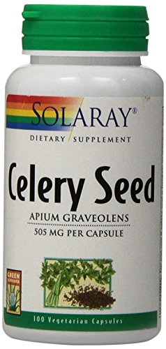 Solaray Celery Seed, 505 mg, 100 Count