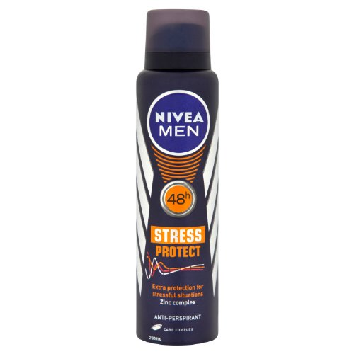 Preisvergleich Produktbild NIVEA MEN Stress Protect 48h Anti-Perspirant 150ml Pack of 3