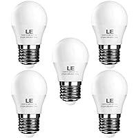 LE E27 LED Lampe, 3W 240 Lumen LED Birne, 2700 Kelvin Warmweiß entspricht 25W Glühlampe, 5er Pack