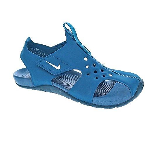 Nike Sandalias y Chanclas Para Niña, Color Azul, Marca, Modelo Sandalias Y Chanclas Para Niña Sunray Protect 2 (PS) Azul