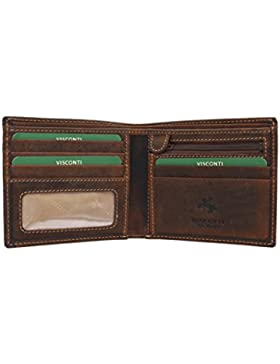 Visconti Cartera SHIELD de Cuero Engrasado 707