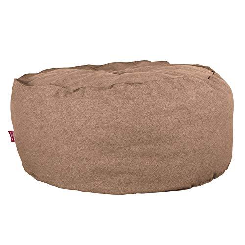 Lounge Pug®, Riesen Sitzsack C500-L, CloudSac Latexflocken-Mischung, Relaxsessel, Interalli Wolle Sand - Sand Wolle-mischung