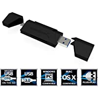 Sabrent 2-Slot Micro USB OTG e USB