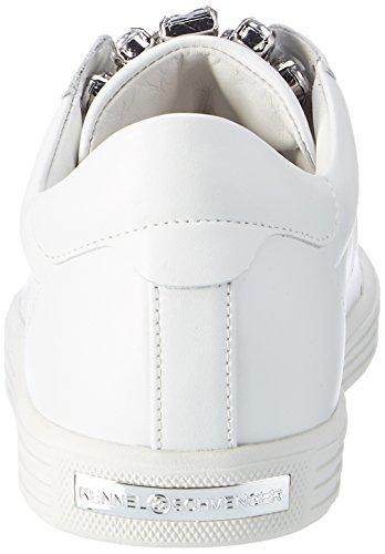 Kennel und Schmenger Damen Town Sneaker Weiß (Bianco/Crystal Sohle Weiss)