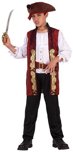 atosa 6312 costume da pirata lusso bambino Tagia:3 (7/9 anni)
