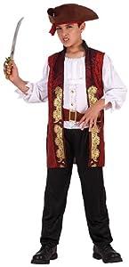 Atosa - Disfraz de pirata para niño, talla L, 7-9 años (111-6312)