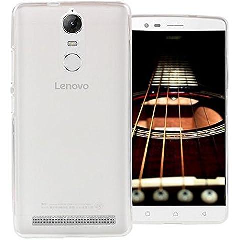 Funda Carcasa Gel Transparente para LENOVO K5 NOTE, Ultra Fina 0,33mm, Silicona TPU de Alta Resistencia y Flexibilidad, Electrónica Rey®