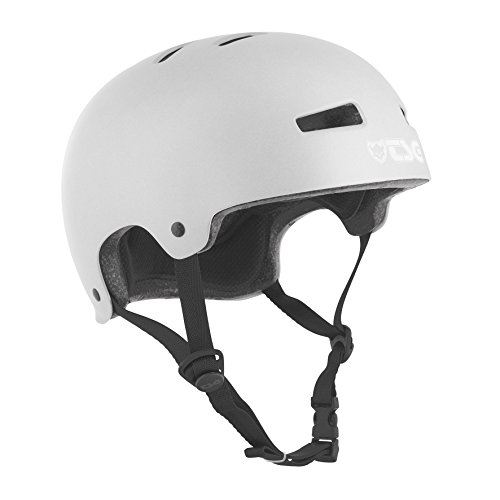 TSG Helm Evolution Solid Color, Silber (satin silver), L/XL, 75046