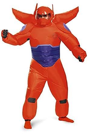 Déguisement Costume Disguise hommes de Baymax gonflable pour adulte -  Rouge - Standard