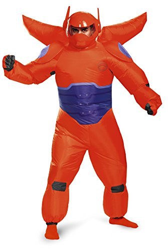 Adult Red Baymax Inflatable Fancy dress costume Standard