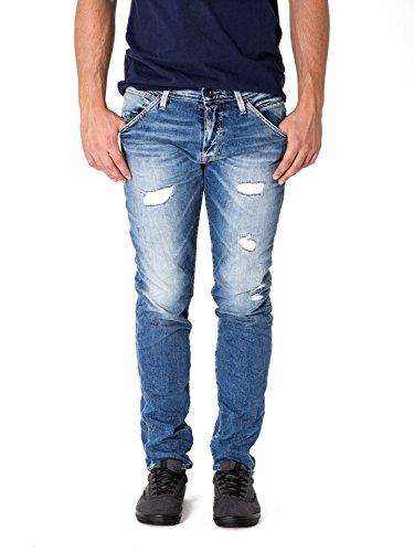 721f5d6f9a48a JACK JONES Herren slim fit jeans mit rips glenn fox Blue Denim