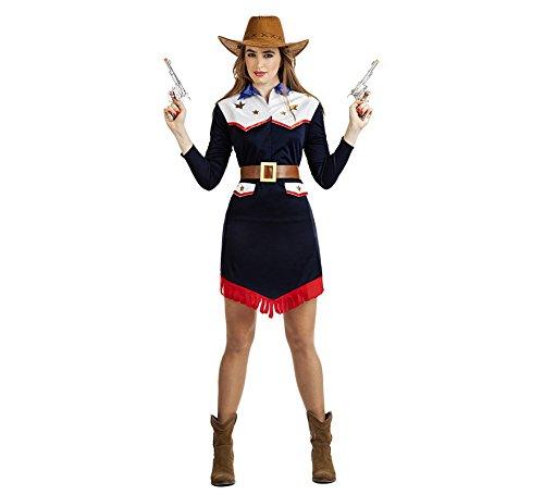 Imagen de disfraz de vaquera llanero para mujer