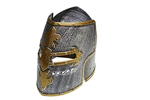 Juguetutto - Casco Medieval Dorado - Disfraz medieval