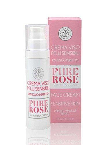 Erbario Toscano Pure Rose Face Cream Sensitive Skin 3R Biocomplex 50ml