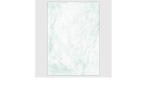 90 g-Offsetpapier Venato 25 Blatt Marmorpapier Jade-grün DIN A4