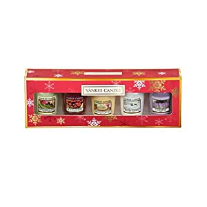 Yankee Candle Pack Of 5 Everyday Christmas Scented Candles Gift Set