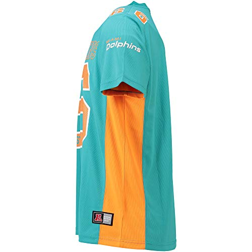 a2611d77e Zoom IMG-3 majestic athletic miami dolphins nfl. Dies ist ein  hochqualitatives NFL Poly Mesh Jersey Shirt ...