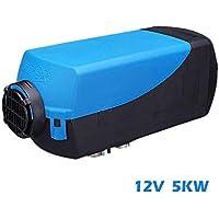 5KW 12 V / 24 V Calentador de estacionamiento de automóviles a diesel Calentador de automóviles + Monitor LCD + Silenciador + Control remoto de la caravana Control del remolque