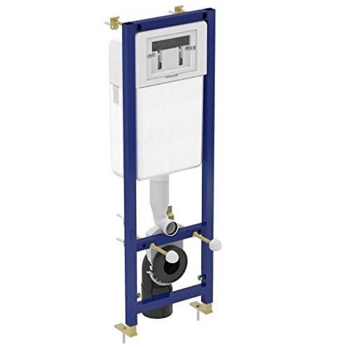 Ideal Standard WC verdeckter Rahmen mit Wandhängendes WC Pfanne mit Soft Close Sitz