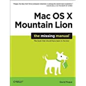 [(OS X Mountain Lion: The Missing Manual)] [By (author) David Pogue] published on (August, 2012)