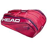 HEAD Tour Team 12r Monstercombi Tennisschlägertasche, Unisex, 283109RANV, Raven/Navy, Einheitsgröße