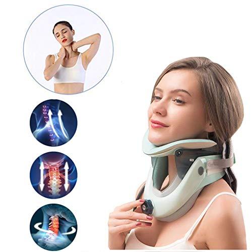 JPJINGZHUI Dispositivo tracción Cervical Collarín