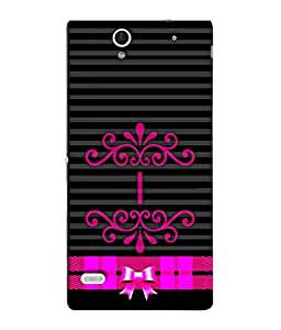 Fuson Designer Back Case Cover for Sony Xperia C4 Dual :: Sony Xperia C4 Dual E5333 E5343 E5363 (Girl Pinkish Female Ladies Student Teen Young)