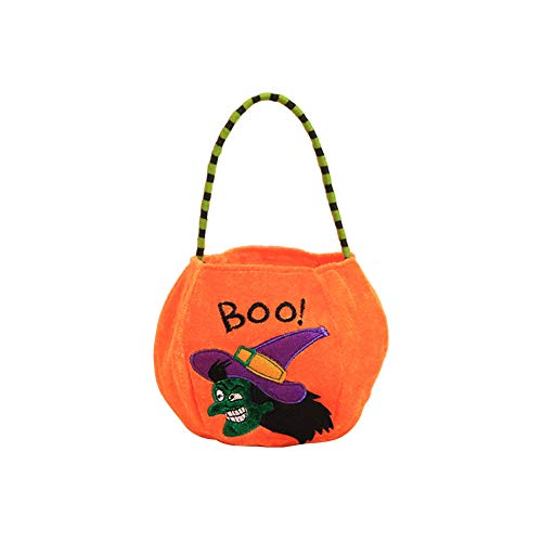 Nikgic Halloween Süßigkeiten Tasche Halter Trick oder Leckerei -