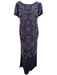 5ef2cea5491 Betsy   Adam Womens Plus Special Occasion Special Event Evening Dress