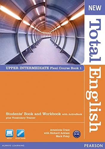 New Total English Upper Intermediate Flexi Coursebook 1 Pack
