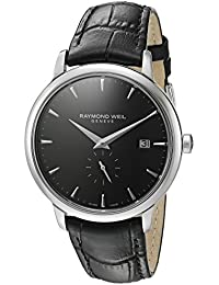Raymond Weil Men's 'Toccata' Quartz Stainless Steel Casual Watch, Color Black (Model: 5484-STC-20001)