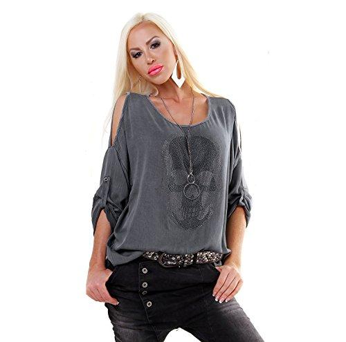 Fashion - Chemisier - Femme Anthracite