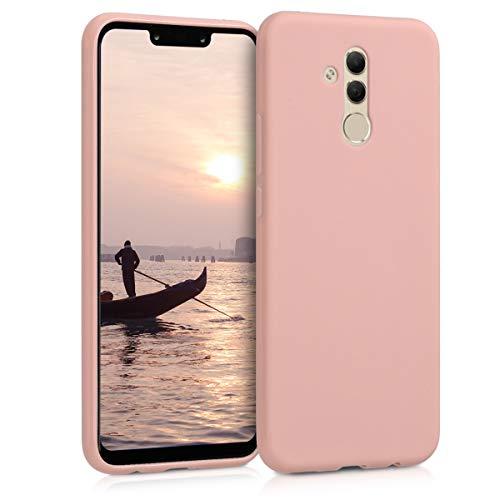kwmobile Huawei Mate 20 Lite Hülle - Handyhülle für Huawei Mate 20 Lite - Handy Case in Rosegold matt