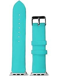 Azul en la sala de 38 mm de goma de silicona venda de reloj para Apple iWatch de intercambio de repuesto WB1105S38JB