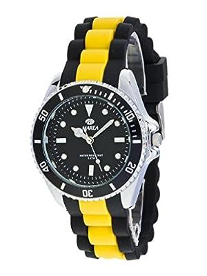 Reloj Marea Hombre B41160/8 Goma Negro y Amarillo