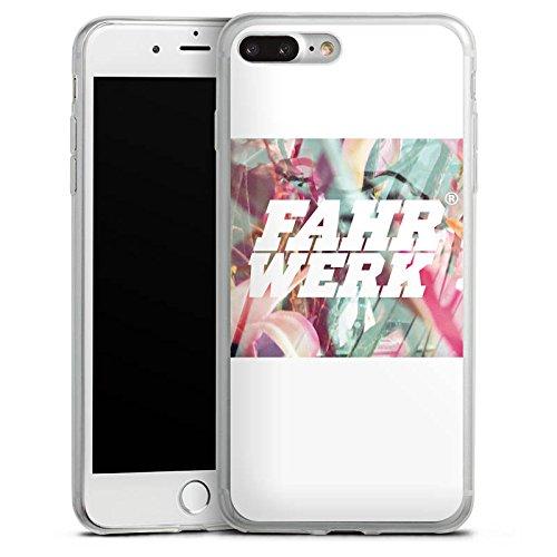 Apple iPhone 8 Slim Case Silikon Hülle Schutzhülle Fahrwerk Bunt Muster Silikon Slim Case transparent