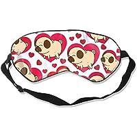 Natural Silk Eyes Mask Sleep Love English BulldogBlindfold Eyeshade with Adjustable for Travel,Nap,Meditation... preisvergleich bei billige-tabletten.eu