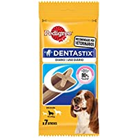 Pedigree Dentastix Medium Breed Dog - Oral Care, 180 g Weekly Pack (7 Sticks)