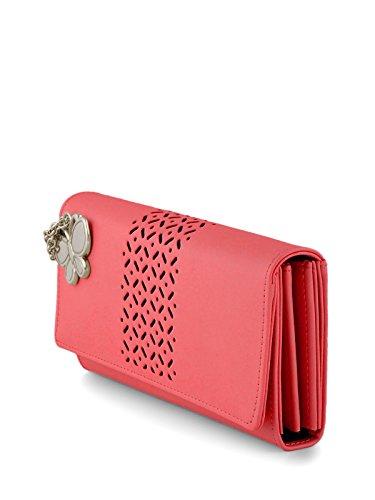 Butterflies Women's Wallet (Dark Peach) (BNS 2386DPCH)