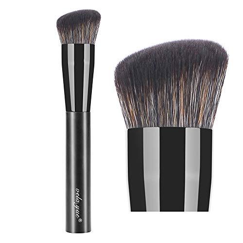 vela.yue Pinceau Fond De Teint Liquide Synthétique Arrondi Biseauté Maquillages