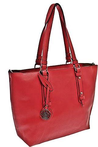 Shopper-Tasche # Bag in Bag # Blogger Schultertasche Damen Handtasche Schultertasche Umhängetasche Henkeltasche (Esprit Schmuck Outlet)
