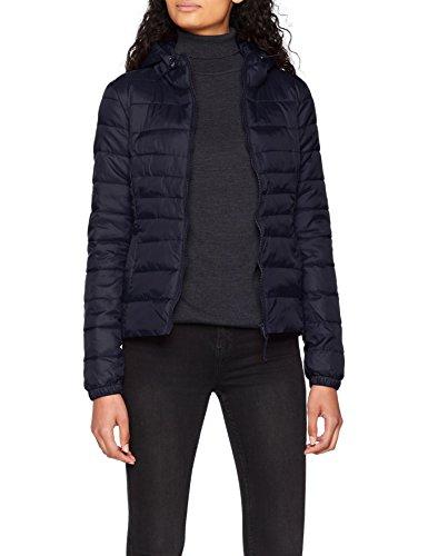 ONLY NOS ONLY NOS Damen Jacke Onltahoe Hood Jacket Otw Noos, Blau (Night Sky), 34(Herstellergröße: XS)