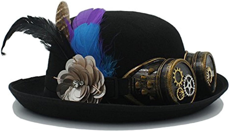 Hat Cappello da Spiaggia Cappello a Bombetta Steampunk Donne di Lavoro  Manuale delle Donne Steampunk degli Uomini per i Cappucci... f7707e f70d7698f8b0