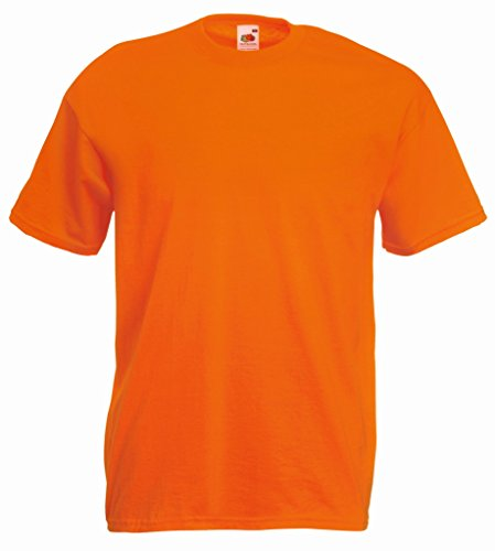 Fruit of the Loom Valueweight T-Shirt Orange XXL